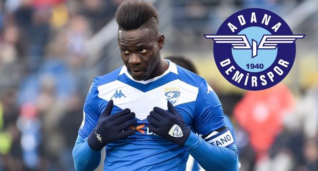 Adana Demirspor'dan Balotelli'ye 3 yıllık sözleşme